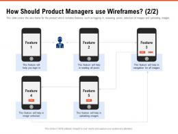 How Should Product Managers Use Wireframes Navigation Requirement Gathering Methods Ppt Pictures
