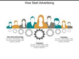 How Start Advertising Ppt Powerpoint Presentation Portfolio Visuals Cpb