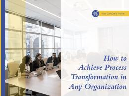 How To Achieve Process Transformation In Any Organization Powerpoint Presentation Slides