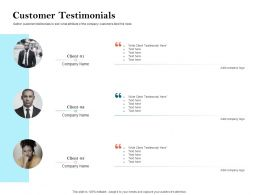 How To Build The Ultimate Client Experience Customer Testimonials Ppt Slides Graphics Download