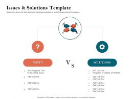 How To Build The Ultimate Client Experience Issues And Solutions Template Ppt Slides Diagrams