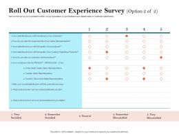 How To Build The Ultimate Client Experience Roll Out Customer Experience Survey Satisfied Ppt Clipart