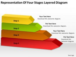how_to_draw_business_process_diagram_of_four_stages_layered_powerpoint_slides_Slide01