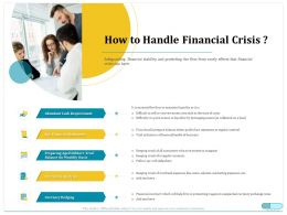 How To Handle Financial Crisis Financial Statements Ppt Powerpoint Icon