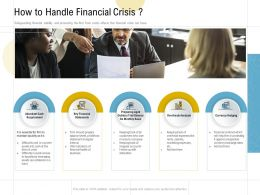 How To Handle Financial Crisis Ppt Powerpoint Presentation Portfolio Template