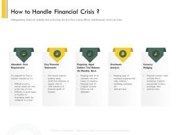 How To Handle Financial Crisis Rents Ppt Powerpoint Presentation Professional