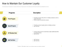 How To Maintain Our Customer Loyalty Martech Stack Ppt Summary Guide