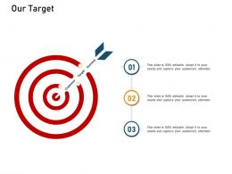 How To Make A Small Business Grow Faster Our Target Ppt Powerpoint Presentation Model Picture