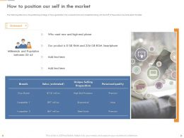 How To Position Our Self In The Market Economical Ppt Powerpoint Presentation Tips