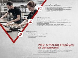 How To Retain Employees In Restaurant Appreciation Ppt Powerpoint Presentation Styles Deck