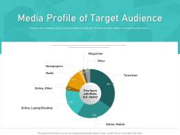 How Visually Map Content Strategy Brand Media Profile Of Target Audience Ppt Ideas