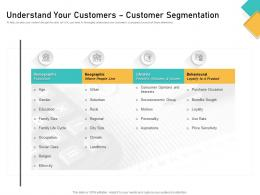 How Visually Map Content Strategy Brand Understand Your Customers Customer Segmentation Ppt Icons