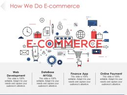 How We Do E Commerce Powerpoint Slide Introduction