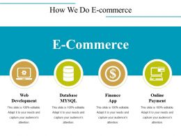 How We Do E Commerce Ppt Images
