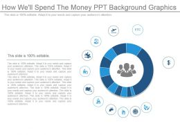 How Well Spend The Money Ppt Background Graphics