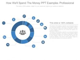 How Well Spend The Money Ppt Examples Professional