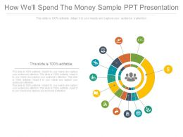 How Well Spend The Money Sample Ppt Presentation