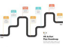 HR Action Plan Roadmap Ppt Powerpoint Presentation Inspiration Slide