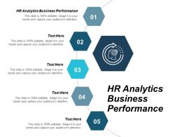HR Analytics Business Performance Ppt Powerpoint Presentation Icon Samples Cpb