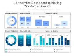 HR Analytics Dashboard Exhibiting Workforce Diversity