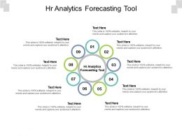 HR Analytics Forecasting Tool Ppt Powerpoint Presentation Infographics Deck Cpb