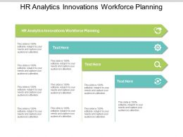 HR Analytics Innovations Workforce Planning Ppt Powerpoint Presentation File Slides Cpb