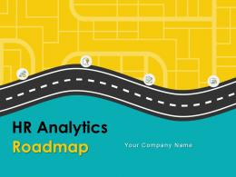 HR Analytics Roadmap Powerpoint Presentation Slides