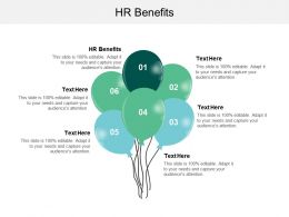 HR Benefits Ppt Powerpoint Presentation Pictures Graphics Example Cpb