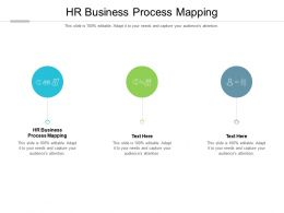 HR Business Process Mapping Ppt Powerpoint Presentation Slides Show Cpb
