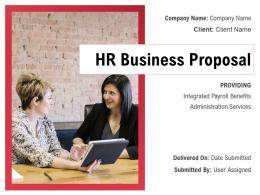 HR Business Proposal Powerpoint Presentation Slides