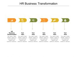 HR Business Transformation Ppt Powerpoint Presentation Gallery Themes Cpb