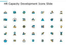 HR Capacity Development Icons Slide Technology Innovation C629 Ppt Powerpoint Presentation