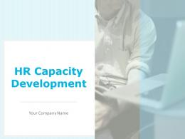 Hr Capacity Development Powerpoint Presentation Slides