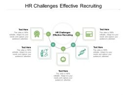 HR Challenges Effective Recruiting Ppt Powerpoint Presentation Model Sample Cpb