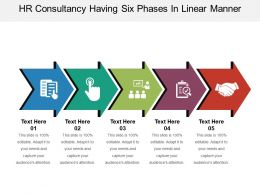 Hr Consultancy Having Six Phases In Linear Manner