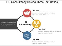 Hr Consultancy Having Three Text Boxes