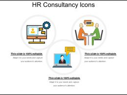 Hr Consultancy Icons