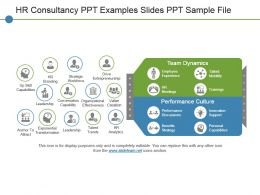 Hr Consultancy Ppt Examples Slides Ppt Sample File