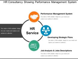 Hr Consultancy Showing Performance Management System