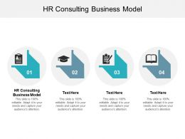 HR Consulting Business Model Ppt Powerpoint Presentation Slides Good Cpb
