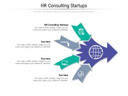 HR Consulting Startups Ppt Powerpoint Presentation Ideas Slideshow Cpb