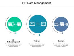 HR Data Management Ppt Powerpoint Presentation Infographic Template Guide Cpb