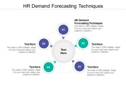 HR Demand Forecasting Techniques Ppt Powerpoint Presentation File Pictures Cpb
