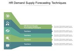 HR Demand Supply Forecasting Techniques Ppt Powerpoint Presentation Portfolio Ideas Cpb