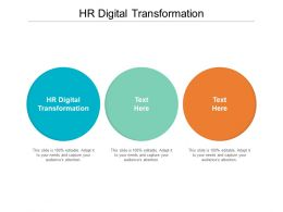 Hr Digital Transformation Ppt Powerpoint Presentation Icon Model Cpb