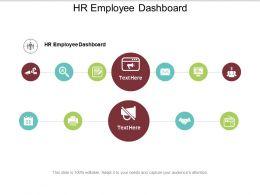 Hr Employee Dashboard Ppt Powerpoint Presentation Icon Elements Cpb