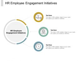 HR Employee Engagement Initiatives Ppt Powerpoint Presentation Pictures Files Cpb
