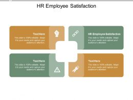 HR Employee Satisfaction Ppt Powerpoint Presentation Pictures Example Cpb