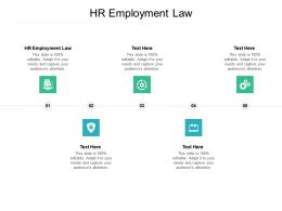 HR Employment Law Ppt Powerpoint Presentation Summary Graphics Cpb