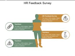 HR Feedback Survey Ppt Powerpoint Presentation Layouts Picture Cpb